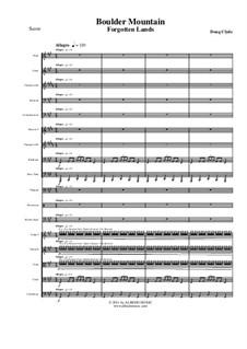 Forgotten Lands: Boulder Mountain (Full Orchestra), AMSM46 by Doug Clyde