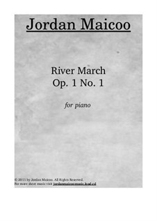 River March, Op.1 No.1: River March by Jordan Trevayne Maicoo