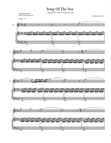 Song of the Sea: partitura completa by Stephen DeCesare