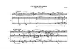 Sonata No.3 for Flute and Piano, MVWV 653: Sonata No.3 for Flute and Piano by Maurice Verheul