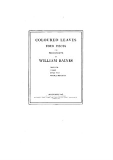 Coloured Leaves: Coloured Leaves by William Baines