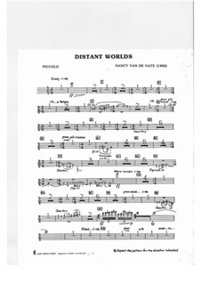 Distant Worlds: partes by Nancy Van de Vate