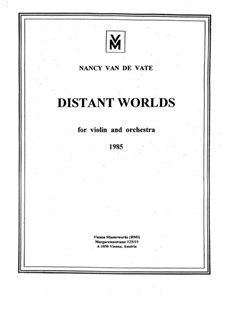 Distant Worlds: partitura completa by Nancy Van de Vate