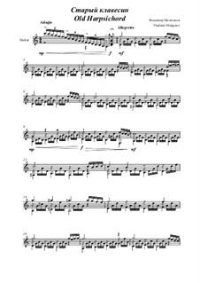 Old Harpsichord: Old Harpsichord by Vladimir Malganov