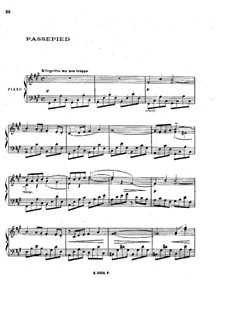 No.4 Passepied: Para Piano by Claude Debussy