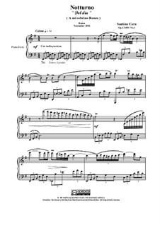 Nocturne in E minor for piano, CS054 No.1: Nocturne in E minor for piano by Santino Cara