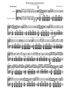 Suite 'Somewhere in the Fairy Forest', Op.5: No.9 A Small Coon Washes Laundry - for duo guitars by Vladimir Malganov