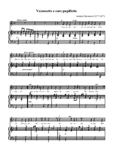 Vezzosette e caro pupillette: F Maior by Andrea Falconieri
