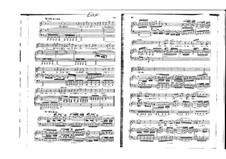 St John Passion, BWV 245: Zerfliesse, mein Herze, for voice and piano by Johann Sebastian Bach