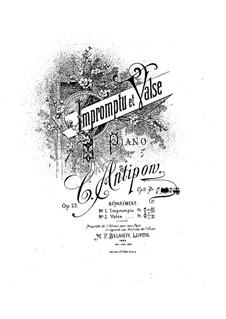 Two Pieces for Piano, Op.13: duas peças para piano by Konstantin Antipov