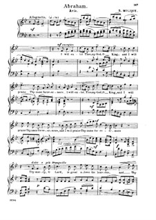 Abraham: Aria 'I Will Extol Thee, My God' by Bernhard Molique