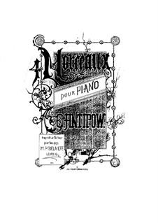 Four Pieces for Piano, Op.6: Quatro peças para piano by Konstantin Antipov