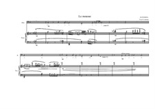 Song for Bass and piano on a poem of Tristan Corbière: No.14b, MVWV 196a by Maurice Verheul