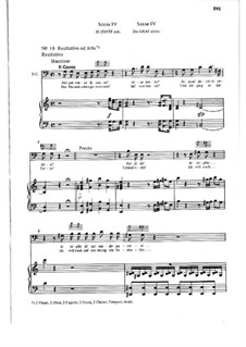 Hai gia vinta la causa: Partitura Piano-vocal by Wolfgang Amadeus Mozart