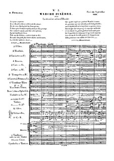 Tristia, Op.18: Marcha funebre by Hector Berlioz