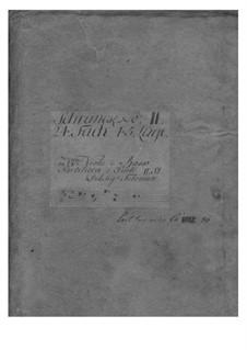 Suite in B Flat Major, TWV 55:B11: partes by Georg Philipp Telemann