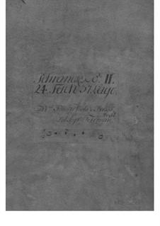 Suite in E Minor, TWV 55:e1: Suite in E Minor by Georg Philipp Telemann