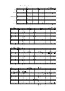 Woodwind Quintet in B Flat Major, Op.100 No.6: movimento III by Anton Reicha