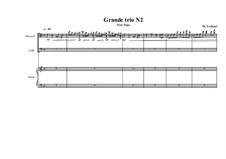 Grande trio No.2: For viola, cello and piano, MVWV 350 by Maurice Verheul