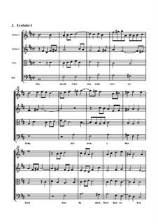 Mit Fried und Freud, ich fahr dahin, BuxWV 76: Evolutio I by Dietrich Buxtehude