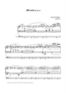 Rêverie, Op.70 No.2: Rêverie, Op.70 No.2 by Alexandre Guilmant