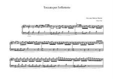 Toccata in G Major: Toccata in G Major by Giovanni Battista Martini