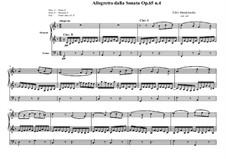 Sonatas for Organ, Op.65: Sonata No.4, Movement III by Felix Mendelssohn-Bartholdy