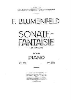 Sonata-Fantasia, Op.46: Sonata-Fantasia by Felix Blumenfeld