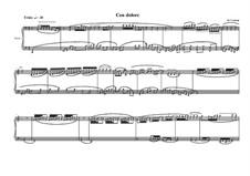 Ballade No.1 for piano, MVWV 351: Ballade No.1 for piano by Maurice Verheul