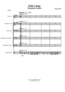Forgotten Lands: Fish Camp (Small Ensemble), AMSM54 by Doug Clyde