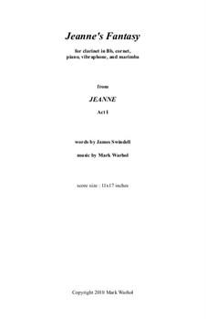 Jeanne: Jeanne's Fantasy – score by Mark Warhol
