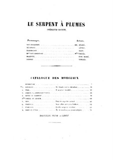 Le serpent à plumes (The Feathered Serpent): Le serpent à plumes (The Feathered Serpent) by Léo Delibes