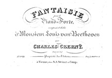 Fantasia in B Flat Major, Op.27: para um único musico (Editado por H. Bulow) by Carl Czerny