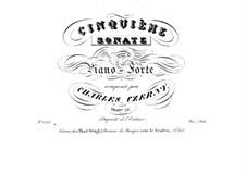 Sonata for Piano No.5 in E Major, Op.76: Sonata for Piano No.5 in E Major by Carl Czerny