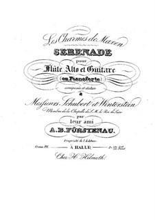 Serenade for Flute, Viola and Guitar, Op.86: Serenata para flauta, viola y guitarra by Anton Bernhard Fürstenau