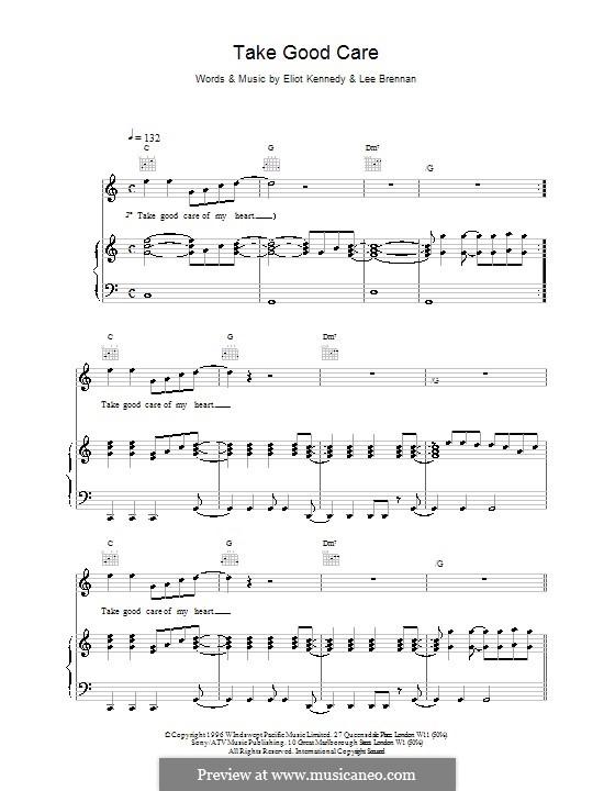 Take Good Care (911): Para vocais e piano (ou Guitarra) by Eliot Kennedy, Lee Brennan