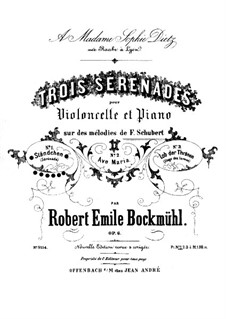 No.4 Ständchen (Serenade): para Violoncelo e piano by Franz Schubert