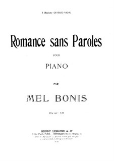 Romance without Words: romantica sem letras by Mel Bonis