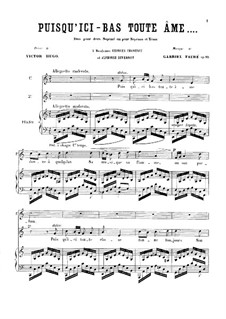 Two Duets, Op.10: Two Duets by Gabriel Fauré