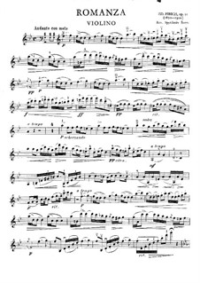 Romance for Violin and Piano, Op.10: Romance for Violin and Piano by Zdeněk Fibich