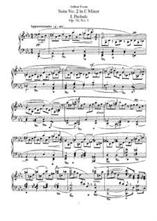 Suite No.2 in C Minor, Op.30: Para Piano by Arthur Foote