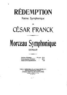 Atonement. Symphonic Poem, FWV 52: Atonement. Symphonic Poem by César Franck