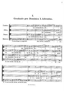 Graduale pro Dominica I. Adventus. Non confuntentur Domine, K.137: Graduale pro Dominica I. Adventus. Non confuntentur Domine by Johann Fux