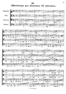 Offertorium pro Dominica IV. Adventus. Ave Maria, K.151: Offertorium pro Dominica IV. Adventus. Ave Maria by Johann Fux