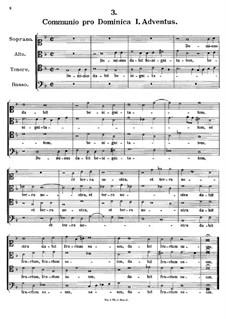 Dominus dabit benignitatem, K.285: Dominus dabit benignitatem by Johann Fux