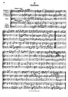 Symphony in B Flat Major, K.353: Symphony in B Flat Major by Johann Fux