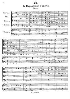 In Expositione Funeris, K.54: In Expositione Funeris by Johann Fux