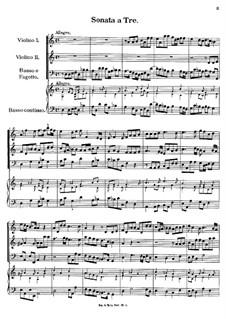 Sonata a Tre, K.349: Sonata a Tre by Johann Fux