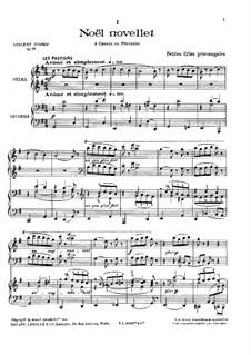 Sept chants de terroir, Op.73: Sept chants de terroir by Vincent d' Indy
