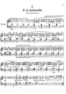 Dekameron, Op.69: Para Piano by Sigfrid Karg-Elert